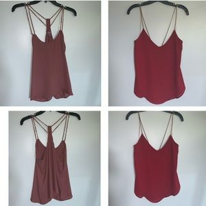 Sexy flowy tanks from Charlotte Russe